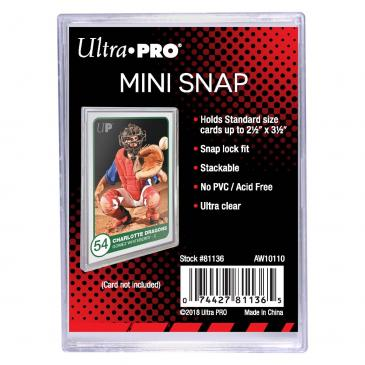 Ultra PRO Mini Snap Card Holder