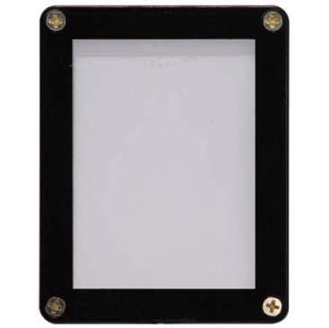 Ultra PRO 1-Card Black Frame Screwdown Holder