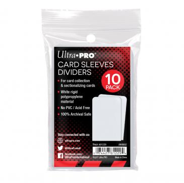 Ultra PRO Semi-Rigid Card Divider White