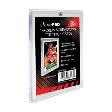 Ultra PRO Single-Screw Screwdown Holder for Thick Cards
