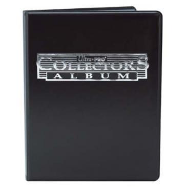 Ultra PRO 4-Pocket Black Collectors Portfolio