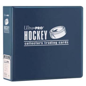 "Ultra PRO 3"" Blue Hockey Album"