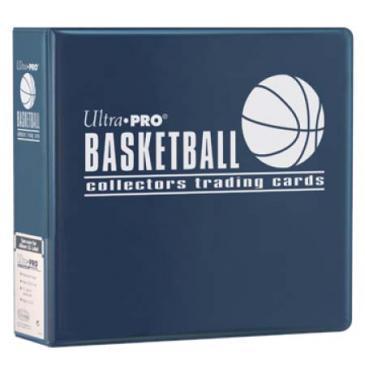 "Ultra PRO 3"" Blue Basketball Album"