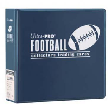 "Ultra PRO 3"" Blue Football Album"
