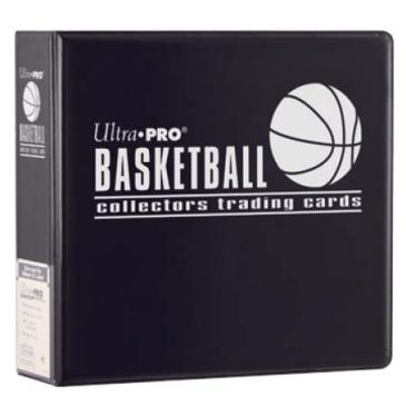 "Ultra PRO 3"" Black Basketball Album"