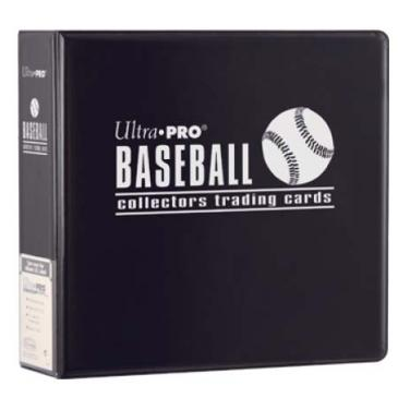 "Ultra PRO 3"" Black Baseball Album"