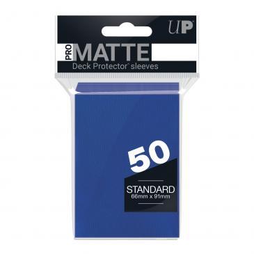 Ultra PRO 50ct Pro-Matte Blue Standard Deck Protectors