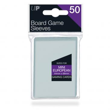 Ultra PRO 44mm X 68mm Mini European Board Game Sleeves 50ct