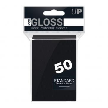 Ultra PRO 50ct Black Standard Deck Protectors