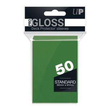 Ultra PRO 50ct Green Standard Deck Protectors