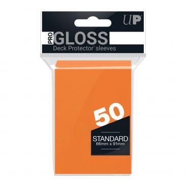 Ultra PRO 50ct Orange Standard Deck Protectors