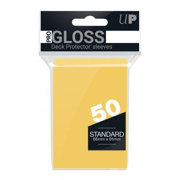 Ultra PRO 50ct Yellow Standard Deck Protectors