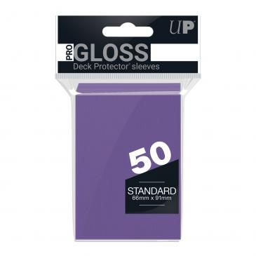 Ultra PRO 50ct Purple Standard Deck Protectors