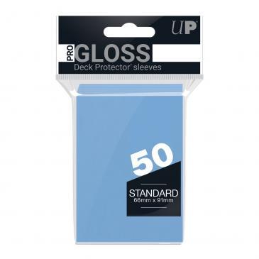 Ultra PRO 50ct Light Blue Standard Deck Protectors