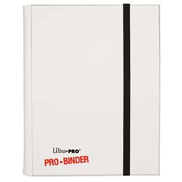 Ultra PRO 9-Pocket White PRO-Binder