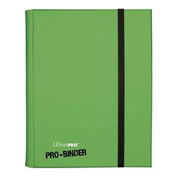 Ultra PRO 9-Pocket Light Green PRO-Binder