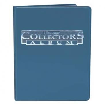 Ultra PRO 4-Pocket Blue Collectors Portfolio