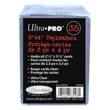 "Ultra PRO 3"" x 4"" Toploaders - 35ct"
