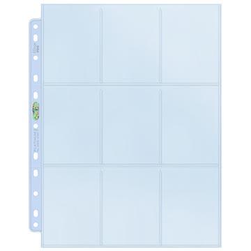 Ultra PRO 9-Pocket Platinum Page for Standard Size Cards (11-Holes)