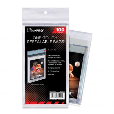 Ultra PRO ONE-TOUCH Resealable Bags