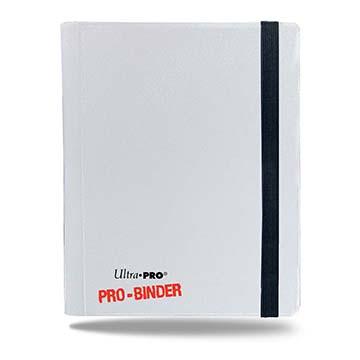 Ultra PRO 4-Pocket White PRO-Binder