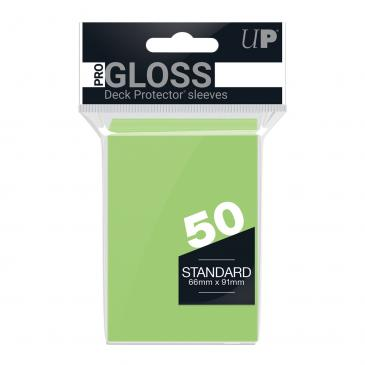 Ultra PRO 50ct Lime Green Standard Deck Protectors