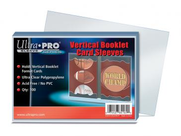 Ultra PRO Vertical Booklet Card Sleeves