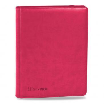Ultra PRO Premium 9-Pocket Bright Pink PRO-Binder