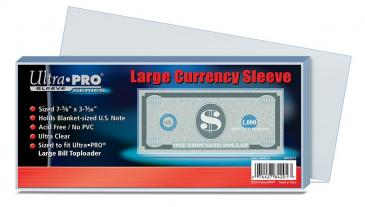 Ultra PRO Large Currency Sleeve