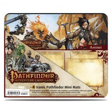 Ultra PRO Pathfinder Adventure Card Game: Rise of the Runelords Expansion Mini Mat 4 Pack