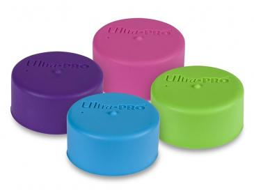 Ultra PRO Playmat Tube Caps - Bright Colors