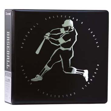 "Ultra PRO 3"" Top Dog Baseball Black Album"
