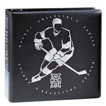 "Ultra PRO 3"" Top Dog Hockey Black Album"