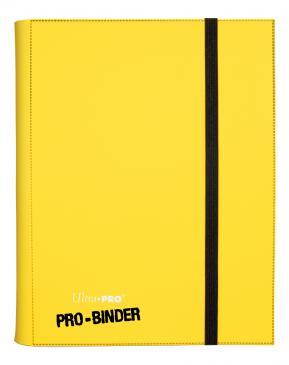 Ultra PRO 9-Pocket Yellow PRO-Binder