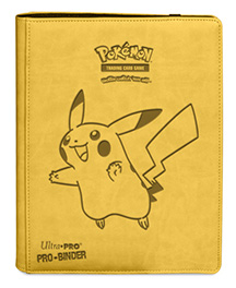 Ultra PRO Pikachu 9-pocket Premium PRO-Binder for Pokémon