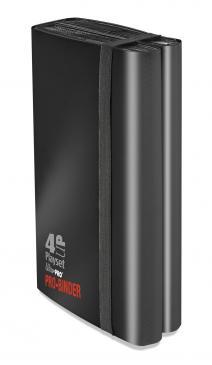 Ultra PRO 4-UP Playset Black PRO-Binder
