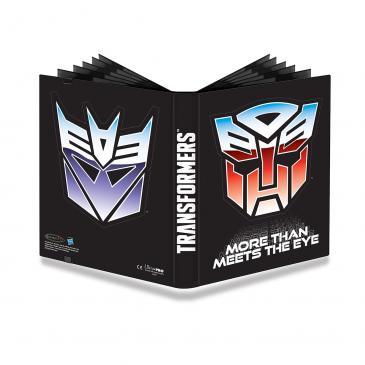 Ultra PRO Transformers Shields 9-Pocket PRO Binder