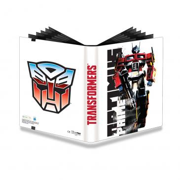 Ultra PRO Transformers Optimus 9-Pocket PRO Binder