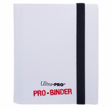 Ultra PRO 2-Pocket PRO Binder in White