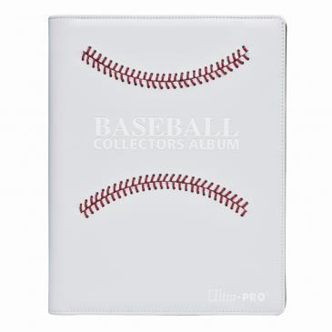 Ultra PRO White Stitched Baseball Premium PRO-Binder
