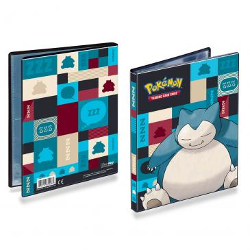 Ultra PRO Snorlax 4-Pocket Portfolio for Pokemon