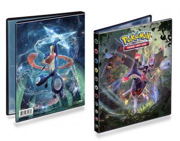 Ultra PRO 4- Pocket Portfolio Pokémon SM6 Greninja & Naganadel