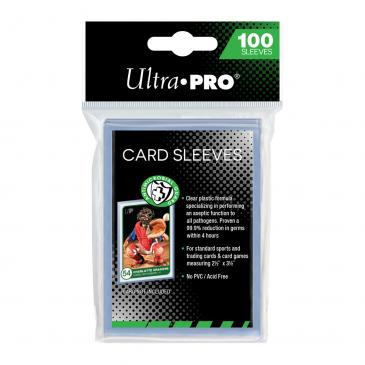 "Ultra PRO 2-1/2"" x 3-1/2"" Antimicrobial Card Sleeves"