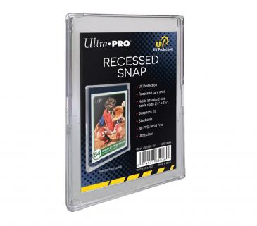 Ultra PRO UV Recessed Snap Card Holder